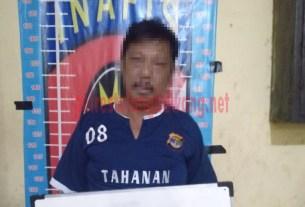 Wahidin, Oknum LSM asal Tulang Bawang Barat yang ditangkap Tekab 308 Polres Tulang Bawang