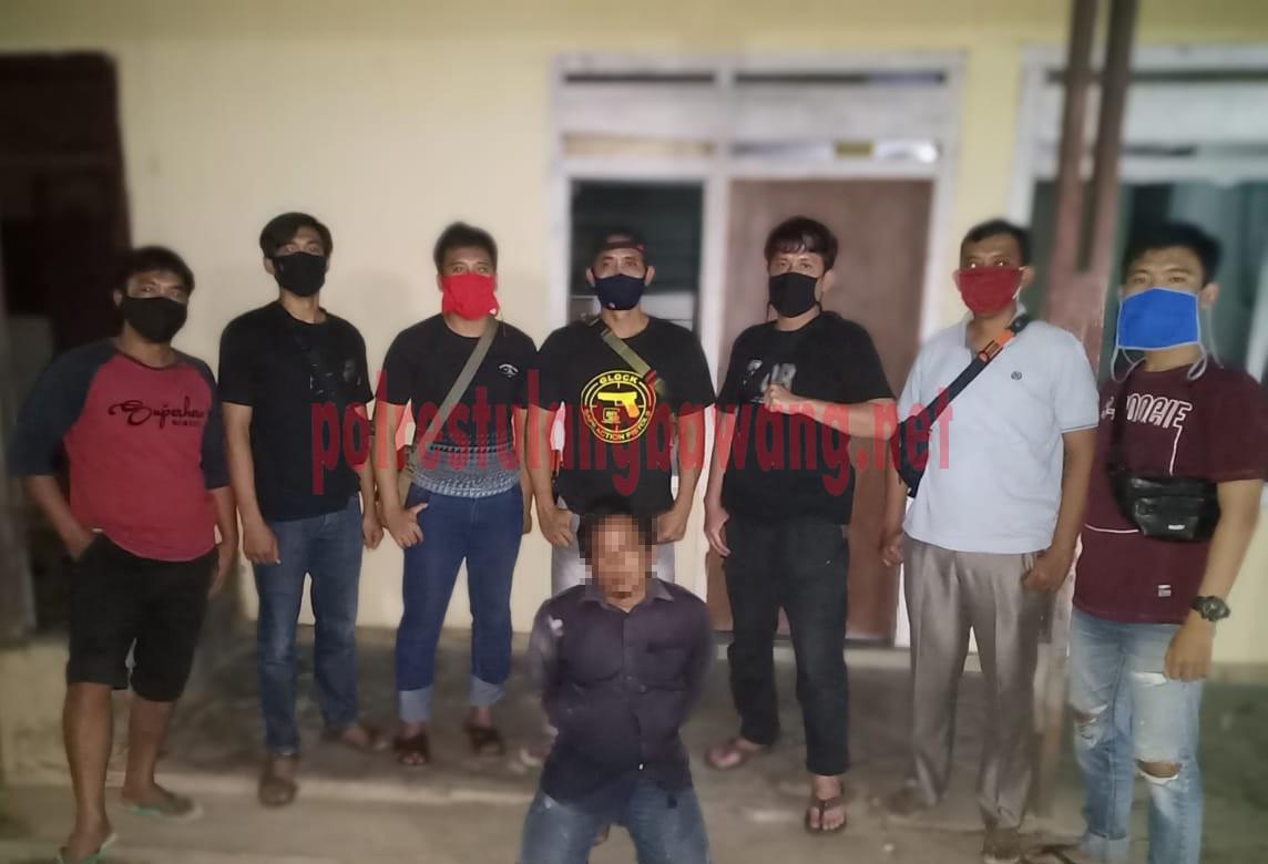 DPO Curas di Km 19 PT.SIL berinisial JI yang ditangkap petugas