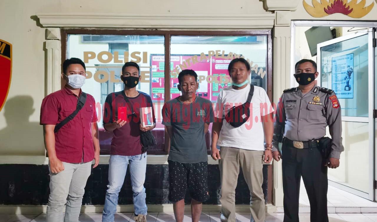 Baru bebas karena program asimilasi, seorang residivis berinisial SI (45), warga Kampung Agung Jaya kembali ditangkap Polsek Banjar Agung bersama Tekab 308 Polres Tulang Bawang