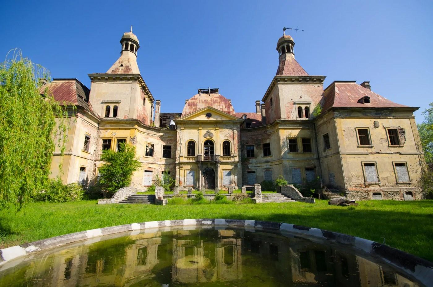Pałac w Mańczycach – rezydencja, o której zapomniano