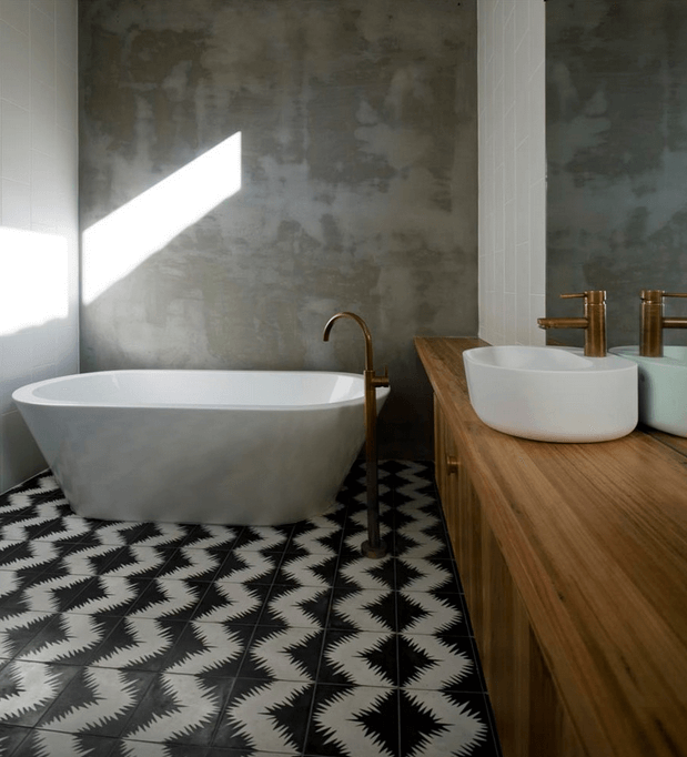 zig-zag-black-and-white-floor