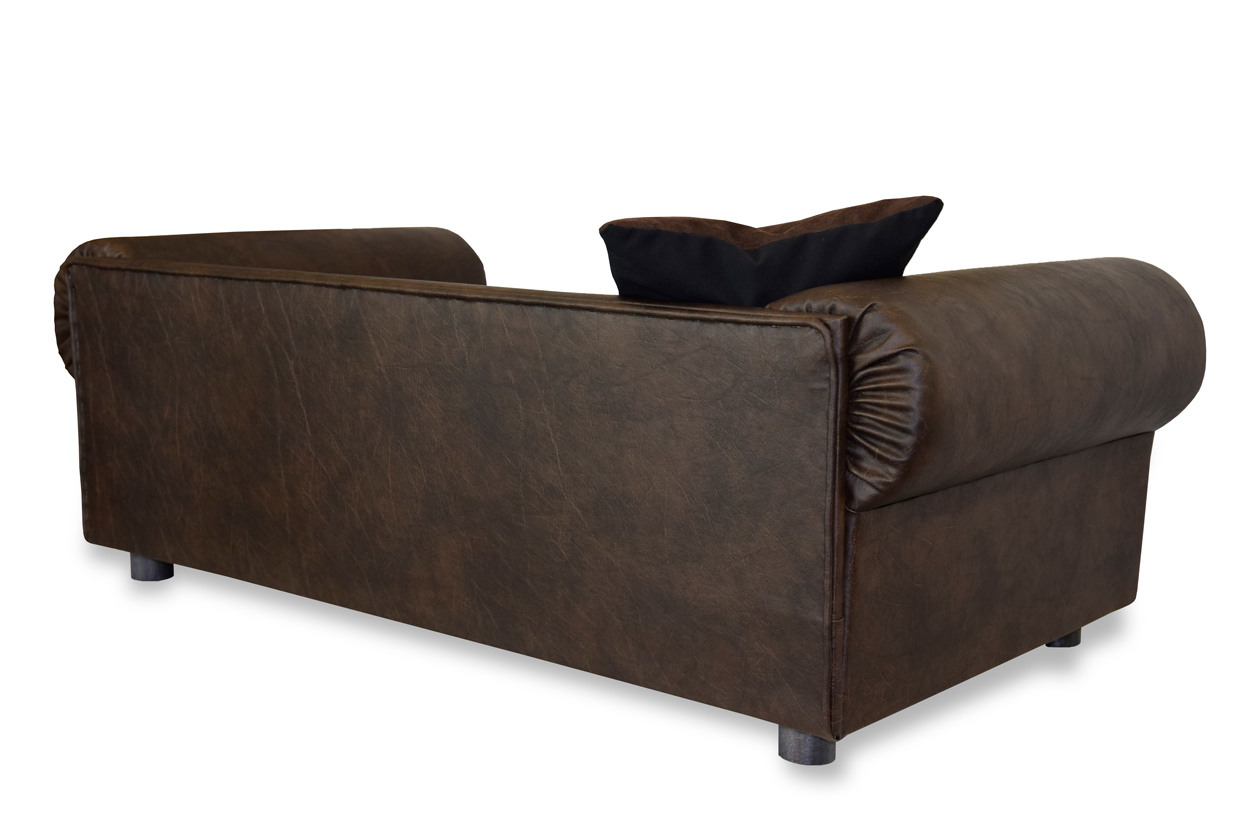 Xxl Chesterfield Sofa Hundesofa Columbus Chesterfield Xxl Büffelleder Antik