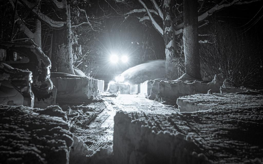 Winter Storm Ezkiel Gave Use Three Feet Of Snow My Strange Life