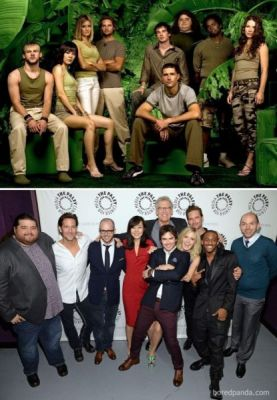 Antes e Depois : Lost