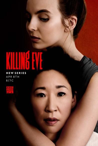 Pôster Killing Eve - 1ª Temporada | Divulgação / BBC America