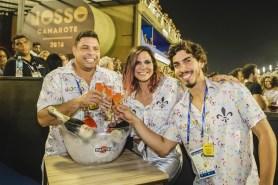 Ronaldo Fenômeno, Carol Sampaio e Gabriel David / Foto: Divulgação