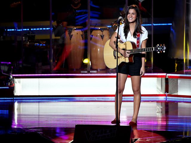 Marianna Eis no The Voice Brasil