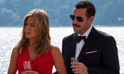 Adam Sandler e Jennifer Anniston em Murder Mistery Divulgação NETFLIX 1 1