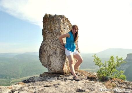 Камень на самом краю южного мыса. Автор фото Алексей Коппа