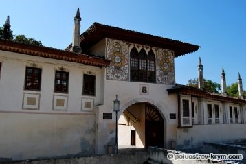 Бахчисарайский дворец. Крым