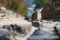 Древняя дорога. Пещерный город Чуфут-Кале. Автор фото Ольга Иутина