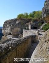 Пещерный город Чуфут-Кале. Южная сторона. Фото Ольги Иутиной