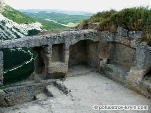 Пещерный город Чуфут-Кале. Северная сторона