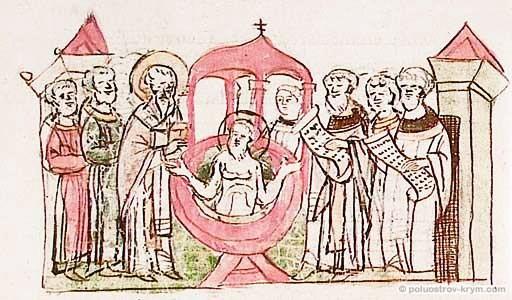 Крещение Владимира в Корсуни
