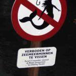 Prohibido pescar Sirenas