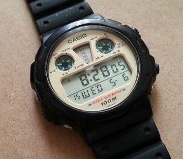 Casio DGW-30 Digi-Graph.