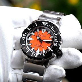Seiko Orange Monster.