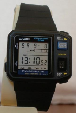 Casio JP-100W Pulsecheck.
