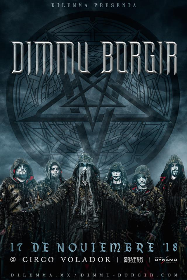 dimmu borgir flyer