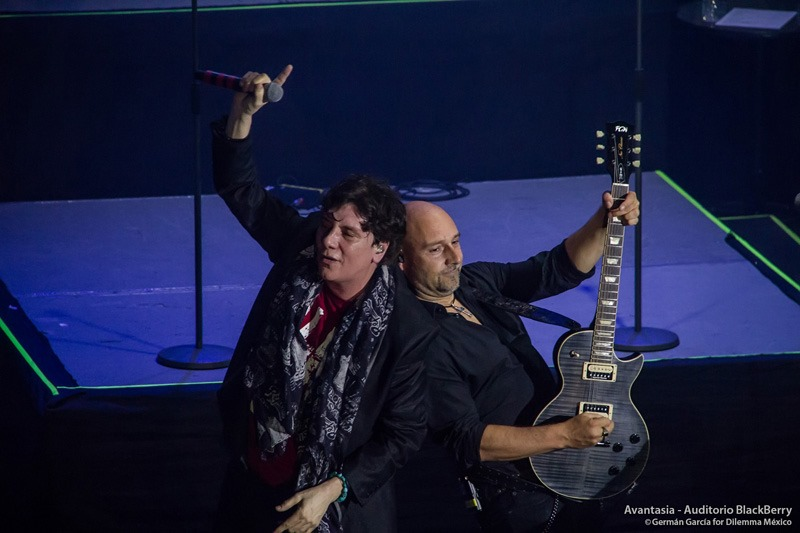 Eric Martin junto a Avantasia - Auditorio Blackberry