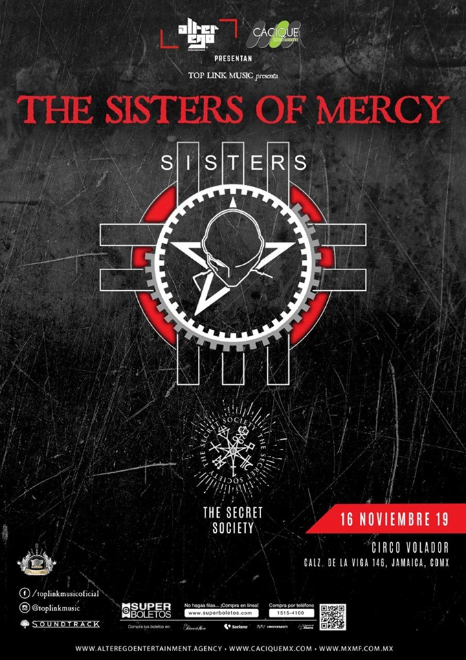 The Sisters of Mercy en México 2019