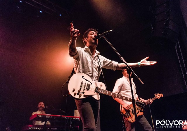 Frank Turner & The Sleeping Souls. Foto: Gustavo Azem