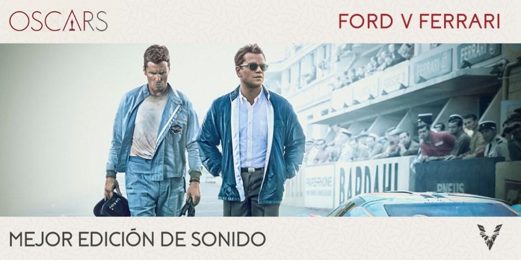 Ganadores-Oscar-2020-Sonido-Ford-v-ferrari