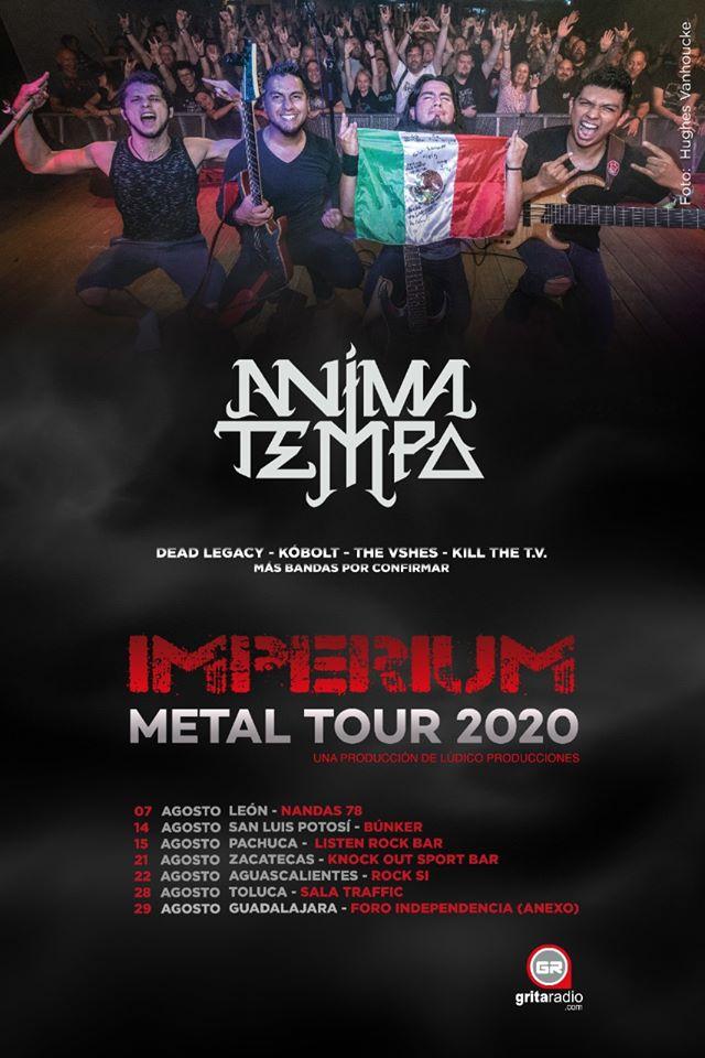 Imperium Metal Tour - Fechas
