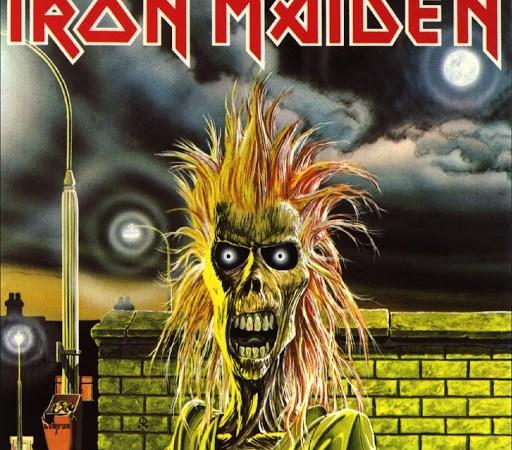 iron maiden portada 1980