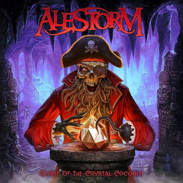 Alestorm - Curse of the Crystal Coconut portada