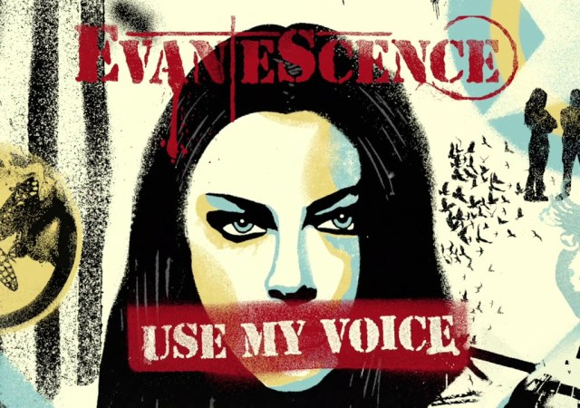 Evanescence - Estrena Use My Voice portada