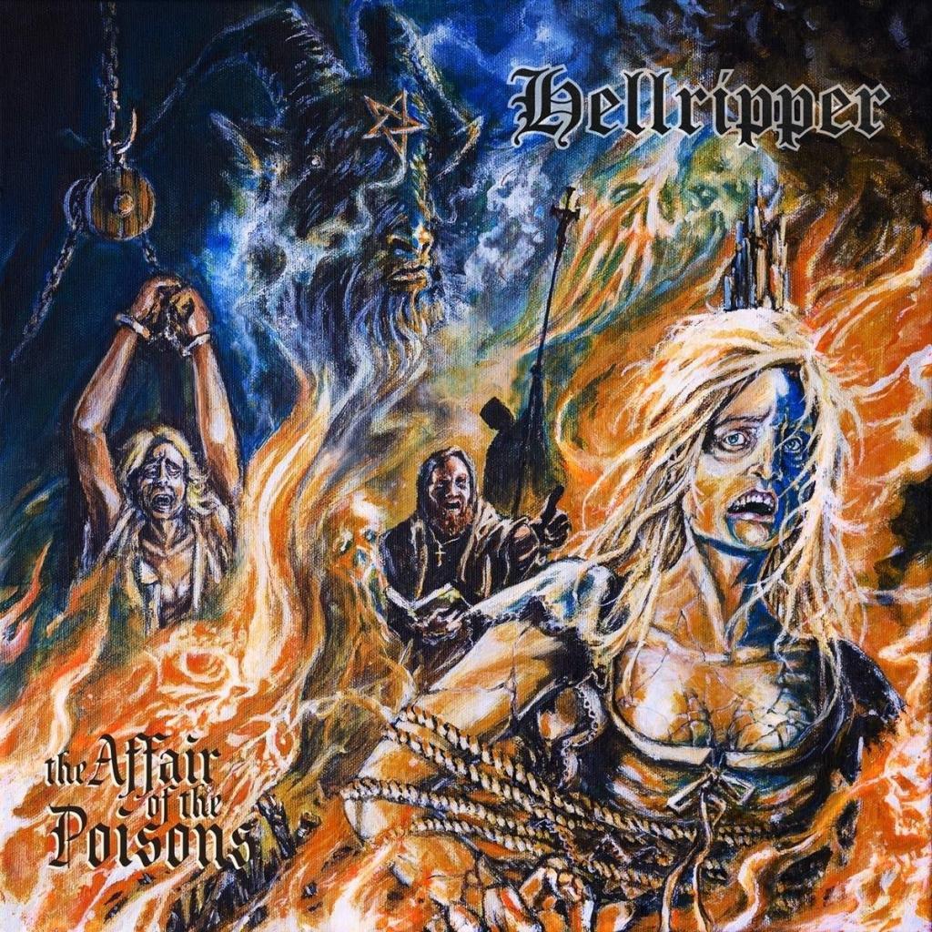 Hellripper the affair of the poisons portada