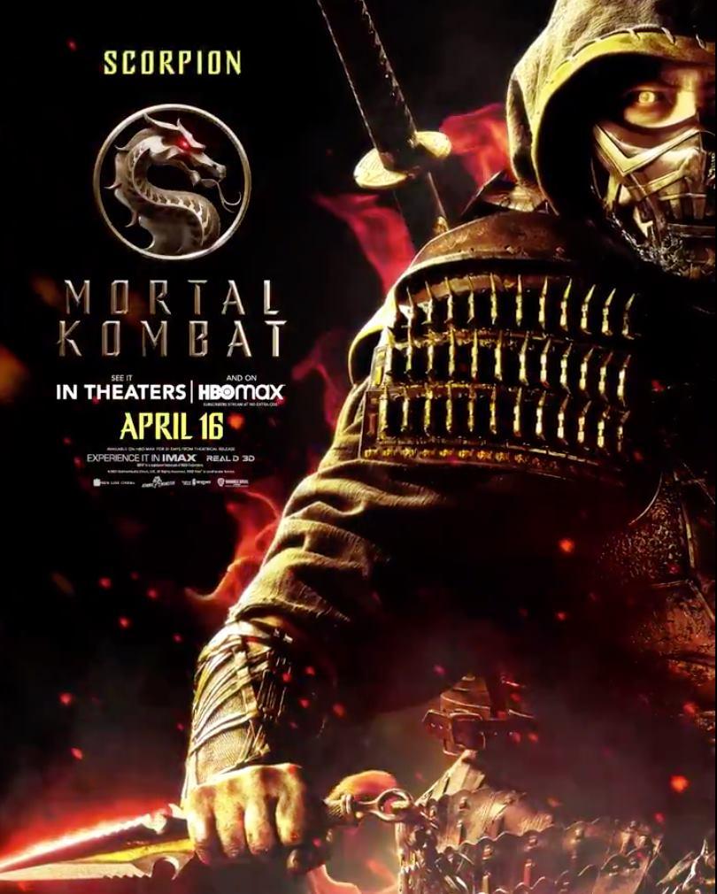 Mortal Kombat posters película 2021