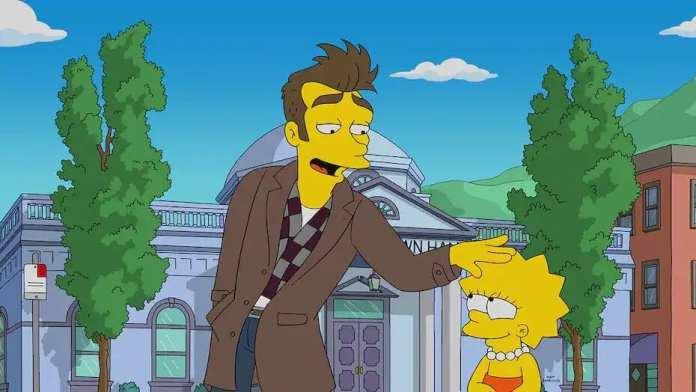 Morrissey en Los Simpson.