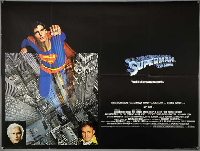 Superman The Movie, poster ( Foto. Twitter)