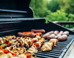 Crystal technology is used in gas grills