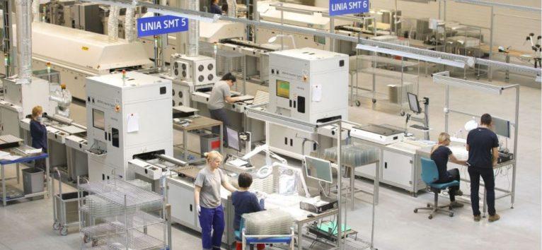 Производство осветительных приборов Magnetic Systems Technology в г. Kętrzyn (Ольштын)
