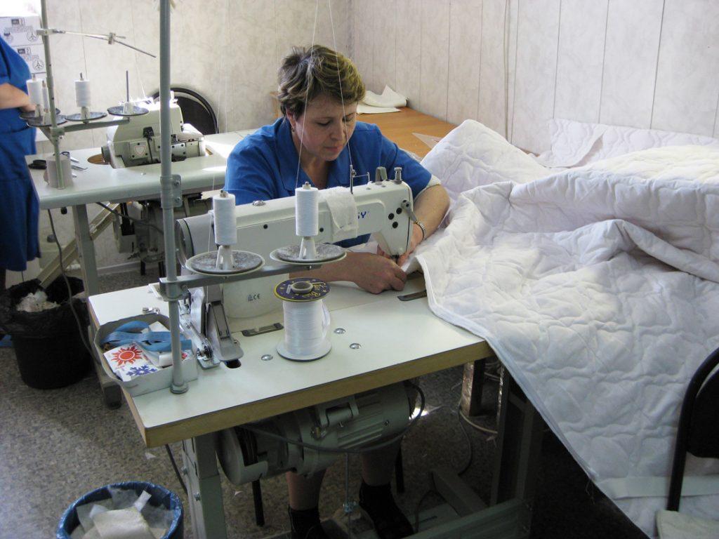 Мебельная фабрика по изготовлению кроватей и матрасов в г. Sulęcin (Познань). Швеи