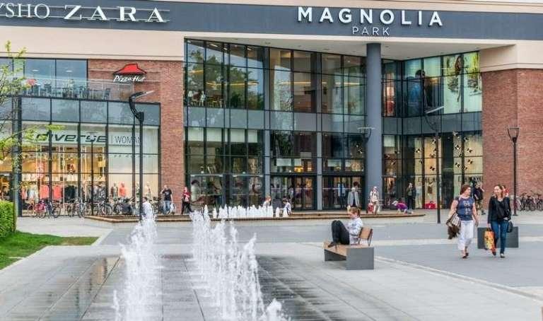 Уборка сети крупнейших торговых центров в Европе Magnolia Park в г.г. Катовице и Вроцлав