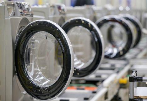 Производство деталей стиральных машин LG в г. Siewierz (Краков)
