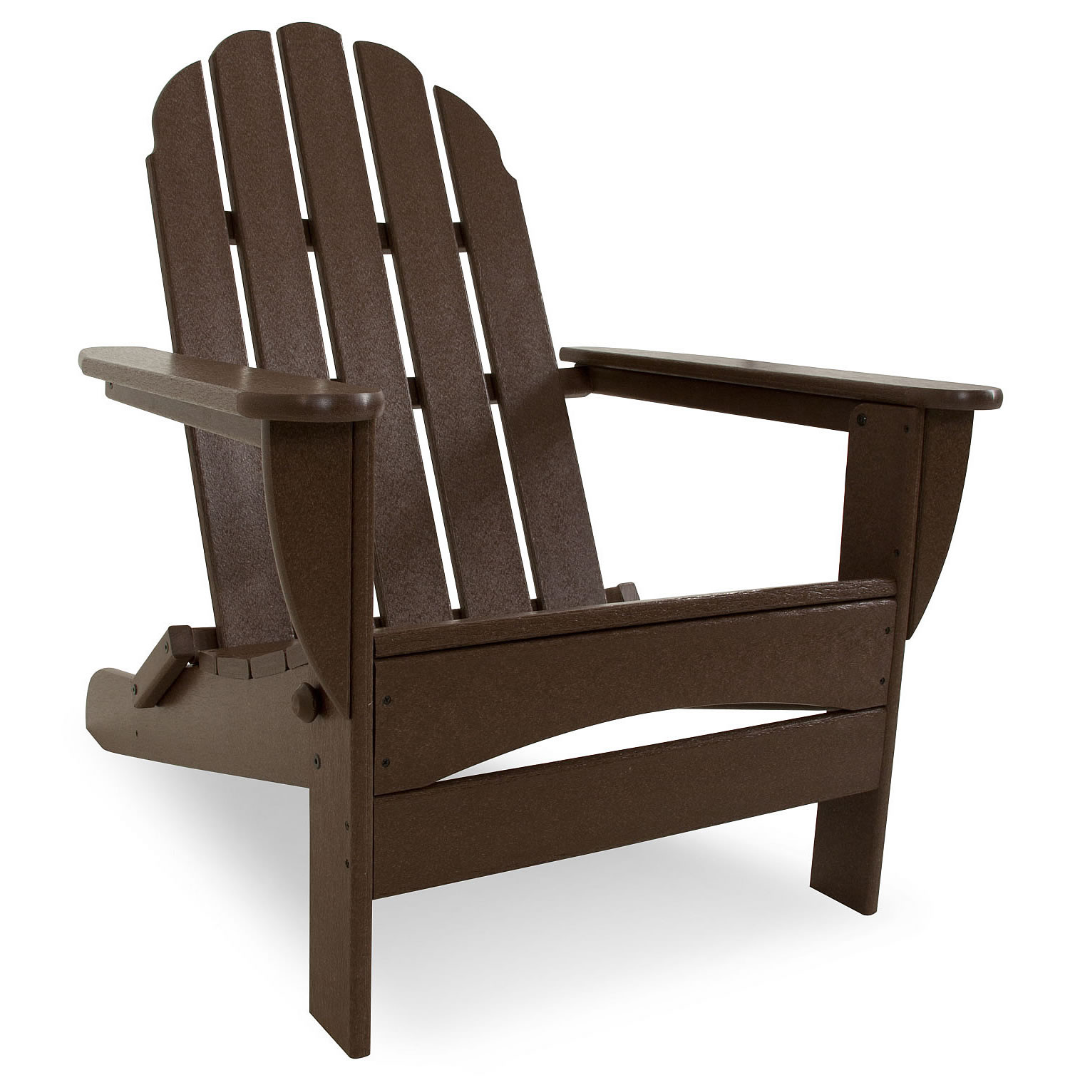 Oversized Patio Chairs Polywood Classic Oversized Curveback Adirondack Chair