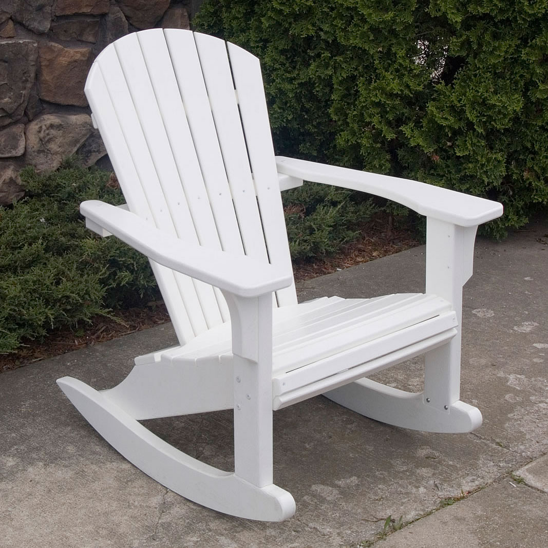 Polywood Rocking Chairs Polywood Seashell Rocker Seashell Collection Polywood