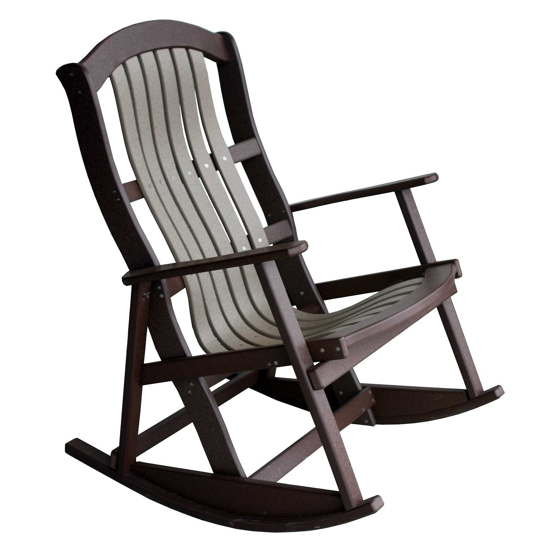 Amish Rocking Chair Amish Poly Classic Cottage Rocker