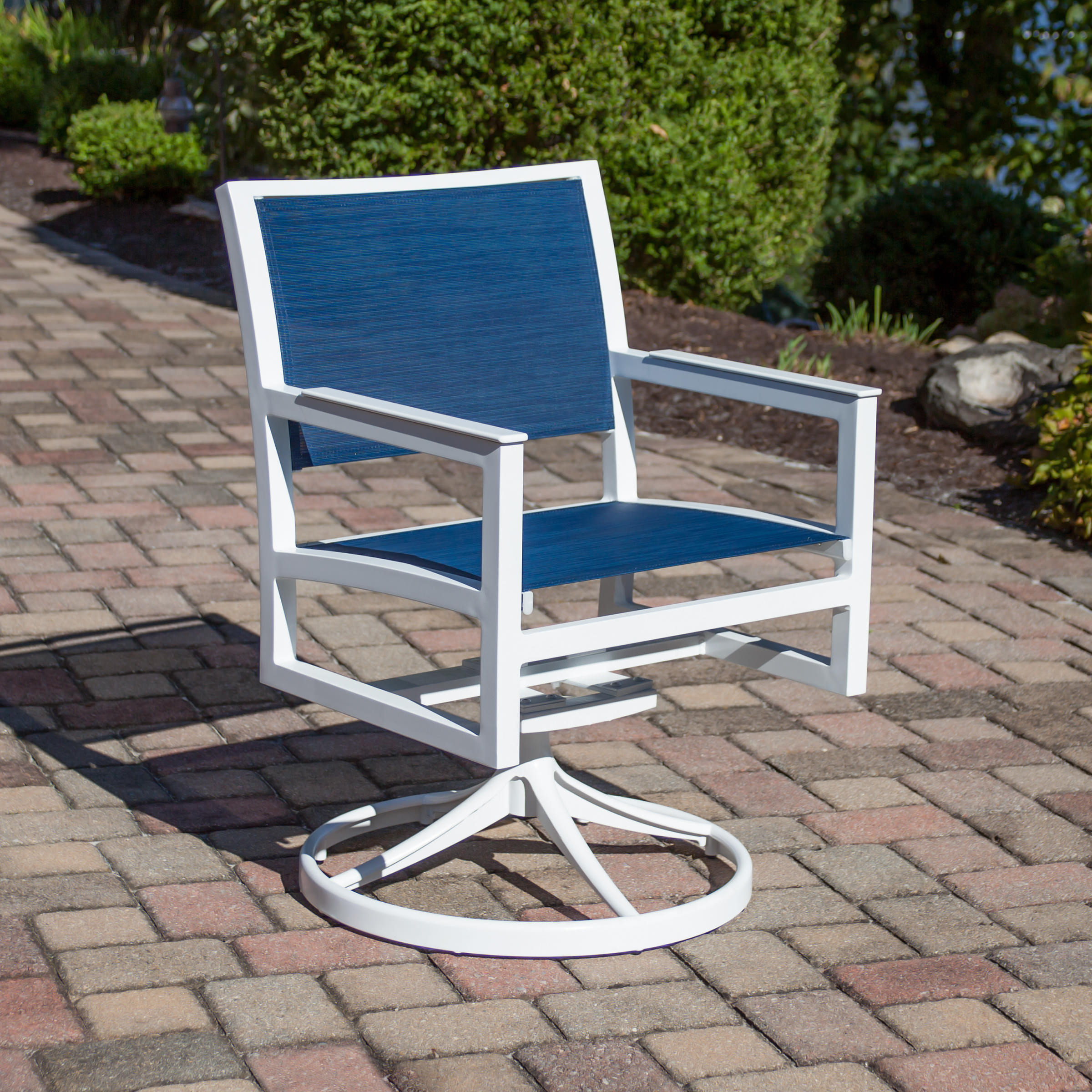 Trex Rocking Chairs Trex Outdoor Furniture Cube Swivel Rocker Parsons