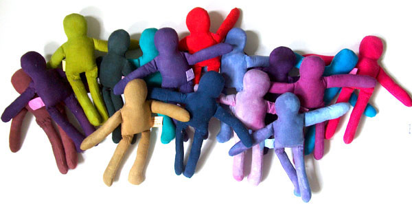 dyed dolls