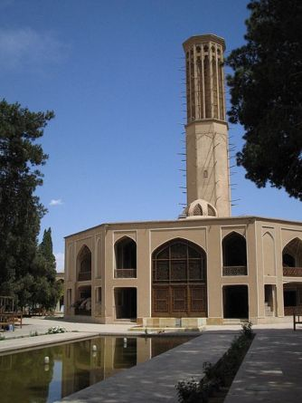 Author: Fabienkhan, via Wikipedia Commons Badgir in Dolatabad Gardens, Yazd, Iran