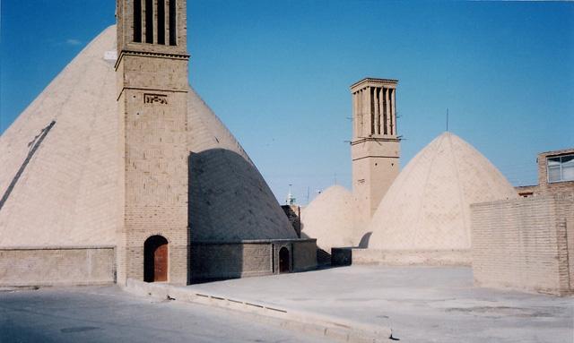 Author: Zereshk, via Wikipedia Commons Ab Anbar cistern with a badgir-windcatcher tower
