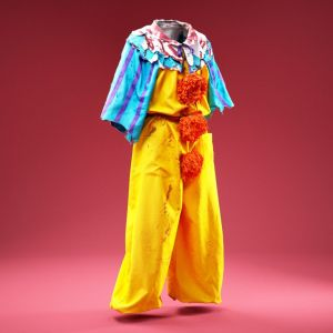 Horror Bloody Clown Costume