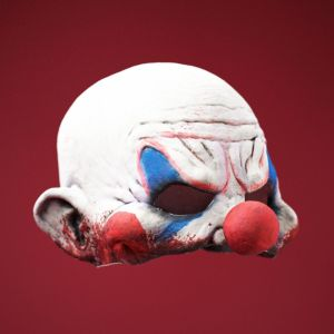 Scary Bloody Horror Clown Mask