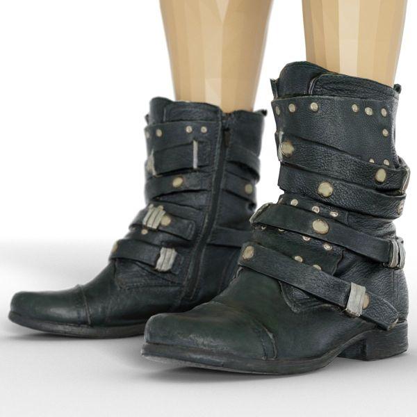Vintage Boot Gothic